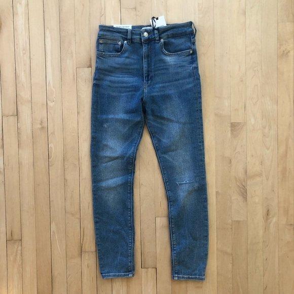 Zara 80's High Waist Jean